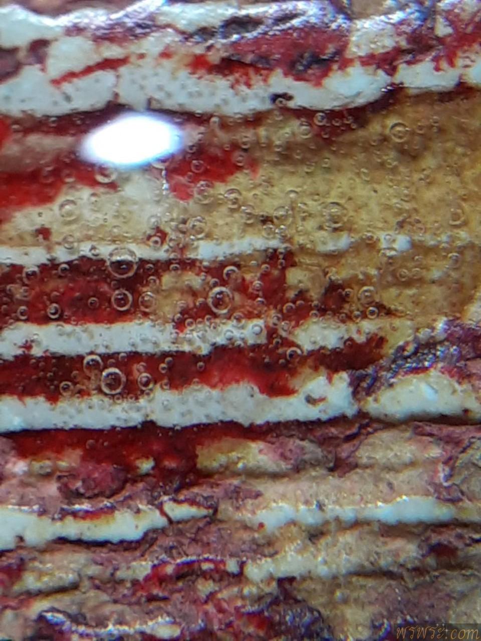 พระสมเด็จ เกศทลุซุ้ม ลงรักชาติแดงเก่าๆ หยดน้ำยาหาอายุพระโดยประมาณ/ส่ง จ.ชัยภูมิ