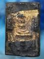 พระสมเด็จ ทรงครุตข้างฉัตร เนื้อตะกั่วถ้ำชา ปิดทองเก่า ปี๒๔๐๘ หล่อโบราณ แบบช่อ มีรอยตัดแกน