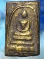พระสมเด็จ พิมพ์ใหญ่ ตะกั่วถ้ำชา ปิดทองเก่า ปี๒๔๐๘