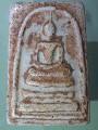 Phra Somdet, Phra Somdet Kaiser, 2 face amulets, water droplets, approximate age of amuletsพระสมเด็จ พระสมเด็จไกเซอร์ พระ2หน้า หยดน้ำยา หาอายุพระโดยประมาณ