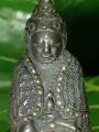 พระกริ่ง ร.๕ปวเรศ ห่มคลุม หมุดทอง ตอกลาย พิมพ์สมบูณ์พูนสุข มีจารย์ใต้ฐาน หลังฐาน ข้างบัวหลัง กริ่งดัง พบเห็น1องค์ ณ.วันที่25/10/2563