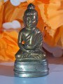 Phra Chaiwat in meditation posture, height 3.6 cm.พระชัยวัฒน์ ปางสมาธิ สูง3.6ซม.