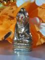 Phra Kring Upakut (Phra Kring Bua Khem), Pho Chai Temple, Nong Khai Province, Year 1969พระกริ่งอุปคุต (พระกริ่งบัวเข็ม) วัดโพธิ์ชัย จ.หนองคาย  ปี2512 พลอยแดง กริ่งดังกังวาล