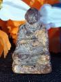 Phra Kring Somdet Puttajarn, year 1868, made of powdered leaves, lacquered and gilded with Rong Chat, ringingพระกริ่งสมเด็จ พุฒาจารย์ ปี2411 เนื้อผงใบราน ลงรักปิดทองร่องชาต กริ่งดัง